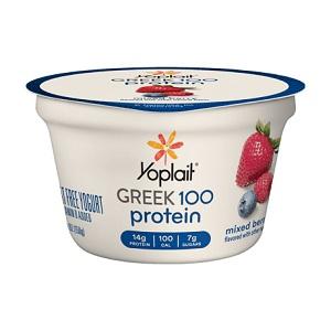 Yoplait Greek Yogurt 100 Calorie Mixed Berry