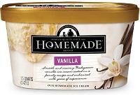 Homemade Brand Vanilla Ice Cream